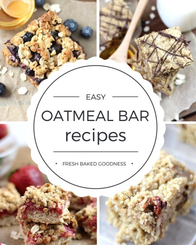 These Easy Oatmeal Bars are kid-tested and can totally be substituted for packaged snack bars. Delicious and nutricious!!