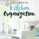 Simple Solution for Kitchen Organization