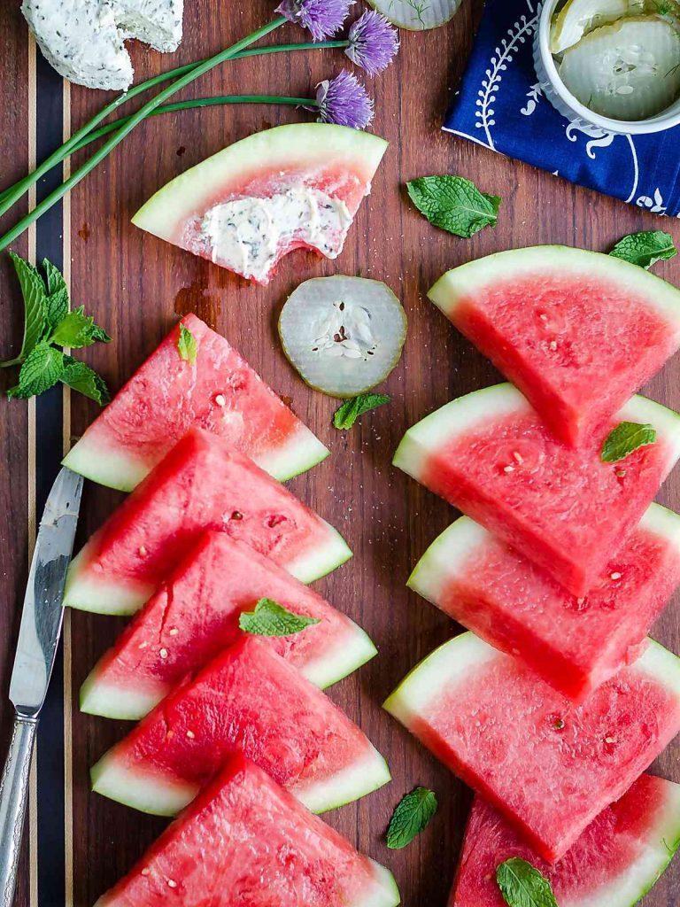 Easy Summer Appetizers - Watermelon Board