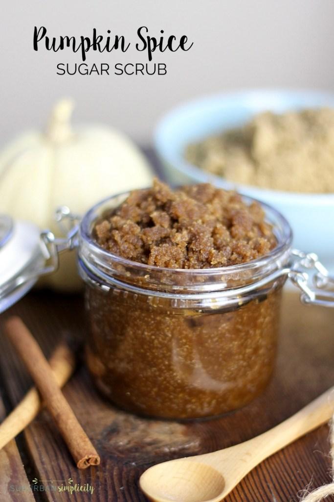 Easy Diy Sugar Scrub: DIY Pumpkin Spice Body Scrub