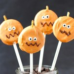 Easy Oreo Pumpkin Pops