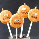 Easy Oreo Pumpkin Pops