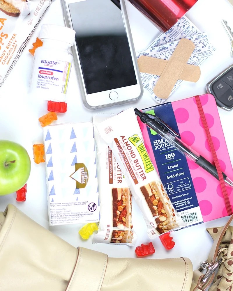 Simplify your life and have these Grab and Go Essentials for Families in your purse or bag. You'll be the mom ready for anything!