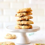 Mint Chocolate Chip Cookies are a must make! The combination of sweet chocolate & mint is something special in these made from scratch cookies! Perfect for everything from Christmas to St. Patrick's Day!