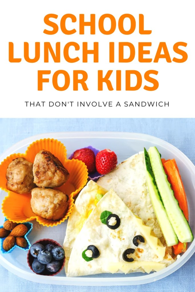 Looking for School Lunch Ideas for Kids?  Check out these fun and SUPER creative school lunch ideas that'll make your life easier!