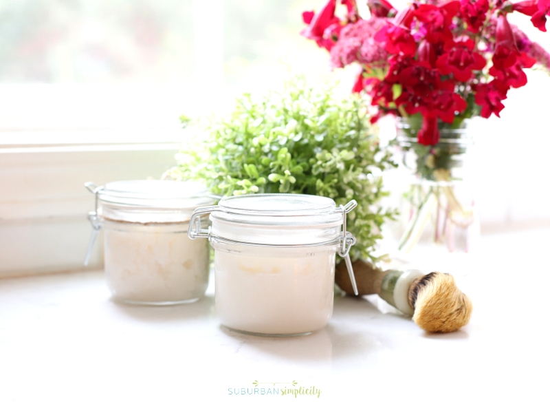 How to make a sugar scrub at home.