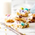 Spring Confetti Cookie Bars