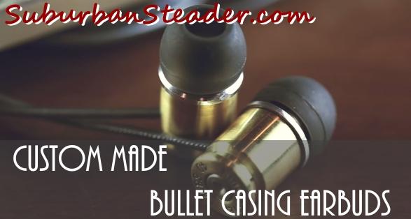 Bullet Casing Earbuds
