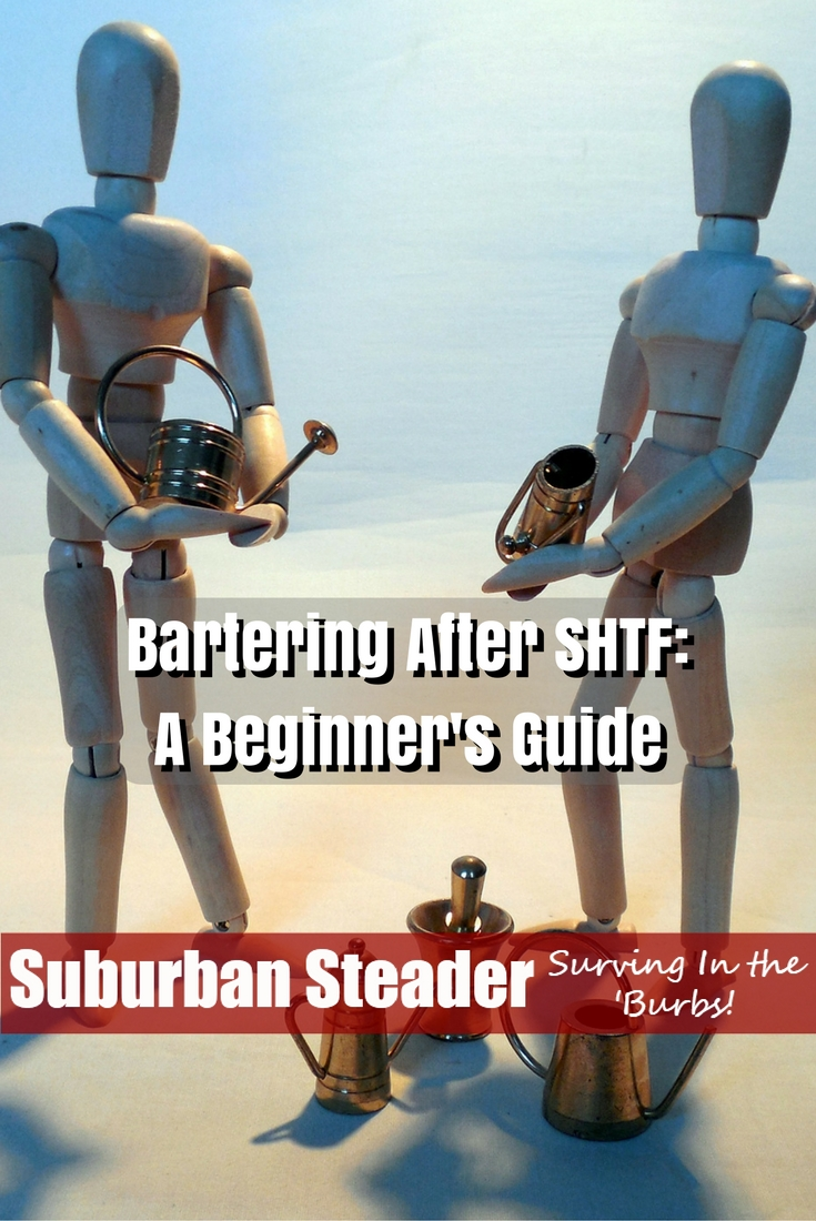 You may have put a lot of thought into what will happen after a major disaster but are you prepared for bartering after SHTF? What will you trade?