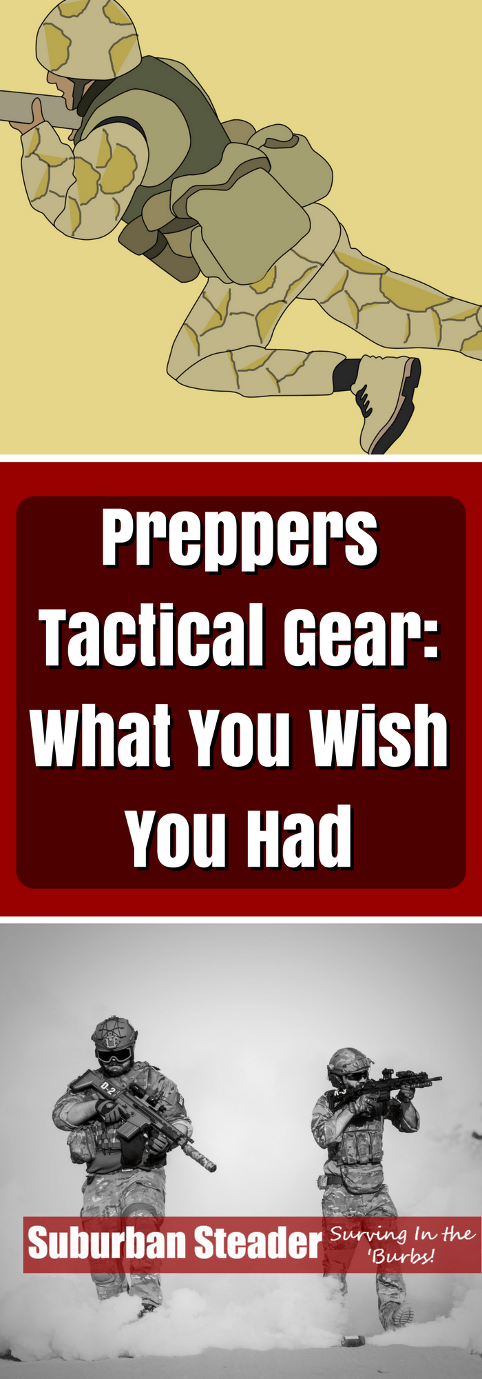 Tactical Gear for Preppers - What You Wish You Had