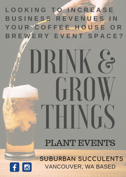 Drink and Grow Things Events