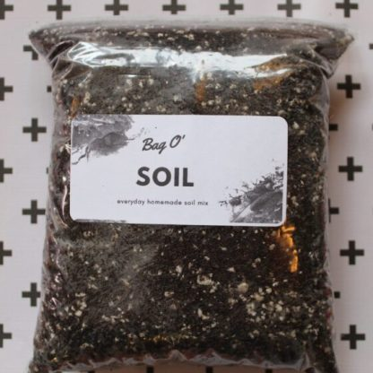 bag of soil