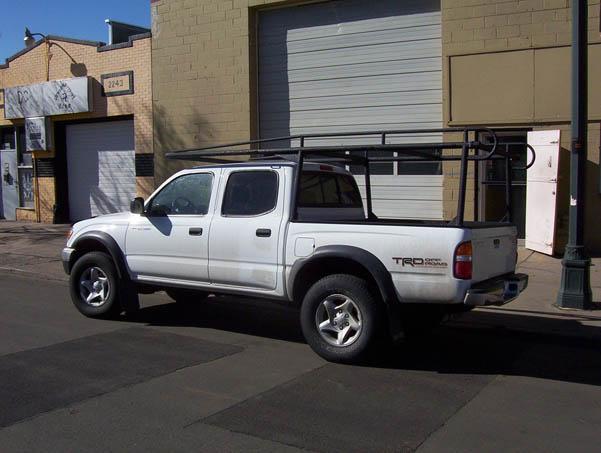 colminnx truck ladder rack toyota