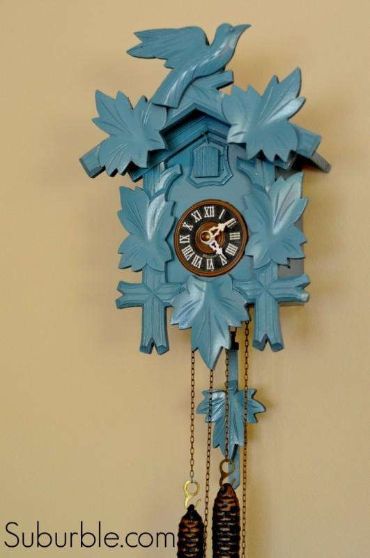 Cuckoo Clock Makeover 9 - Suburble