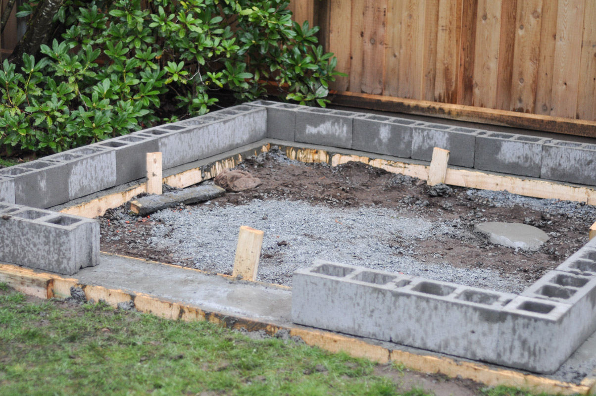 Building shed foundation ideas for How to read a foundation plan