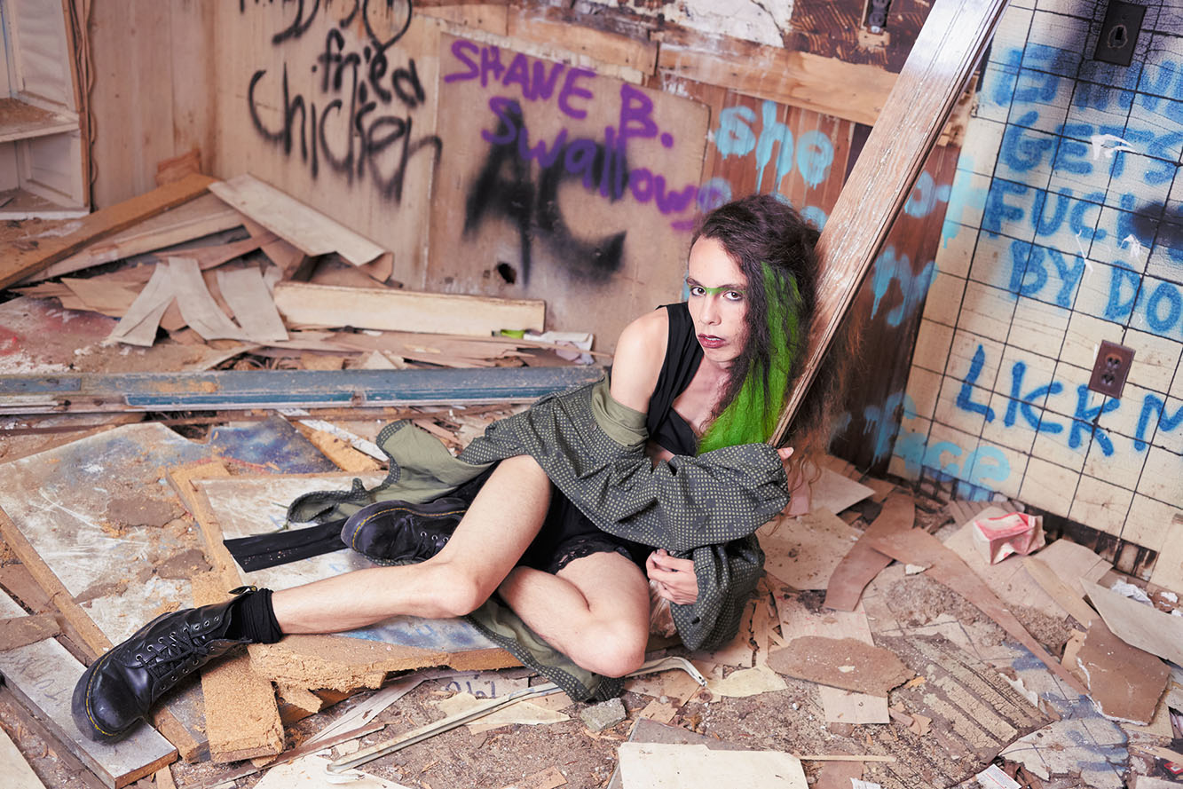 Post Apocalyptic Femme Shot by Lucy Alcorn
