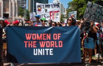 Women's March Sydney shot by Laura Clarke