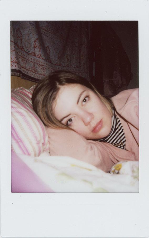 Self Portrait Polaroids by Alexandra Hayter