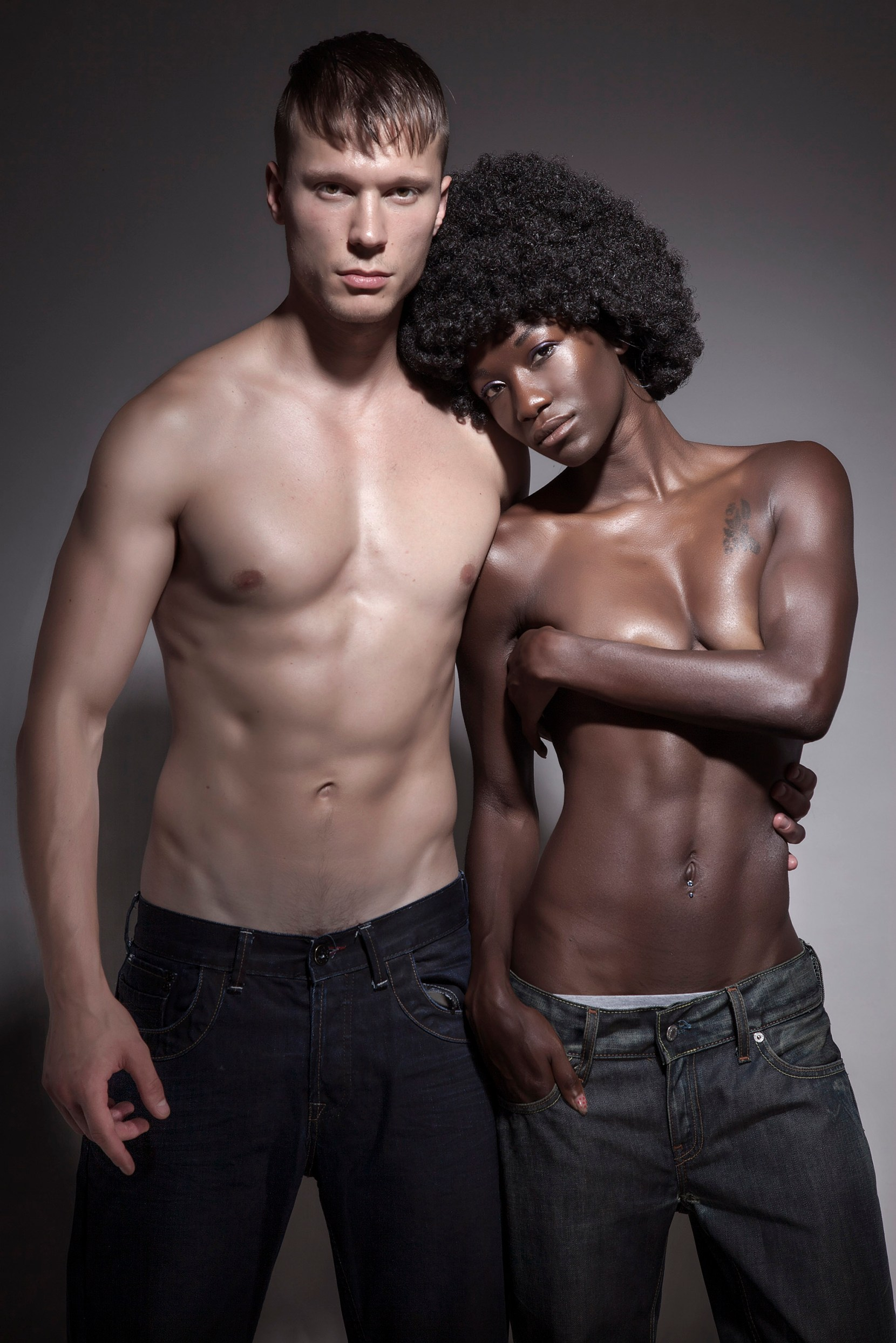 Interracial Love shot by Steph Dray
