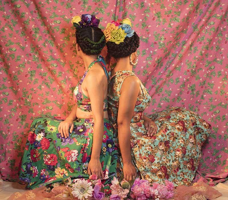 Mujeres en Flores shot by Damarys Alvarez