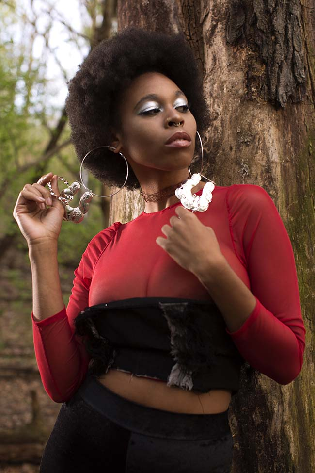 The Lady in Red shot by Damarys Alvarez