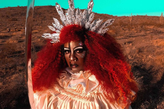 Madame Flame is a priestess, witch, wild woman and creator.