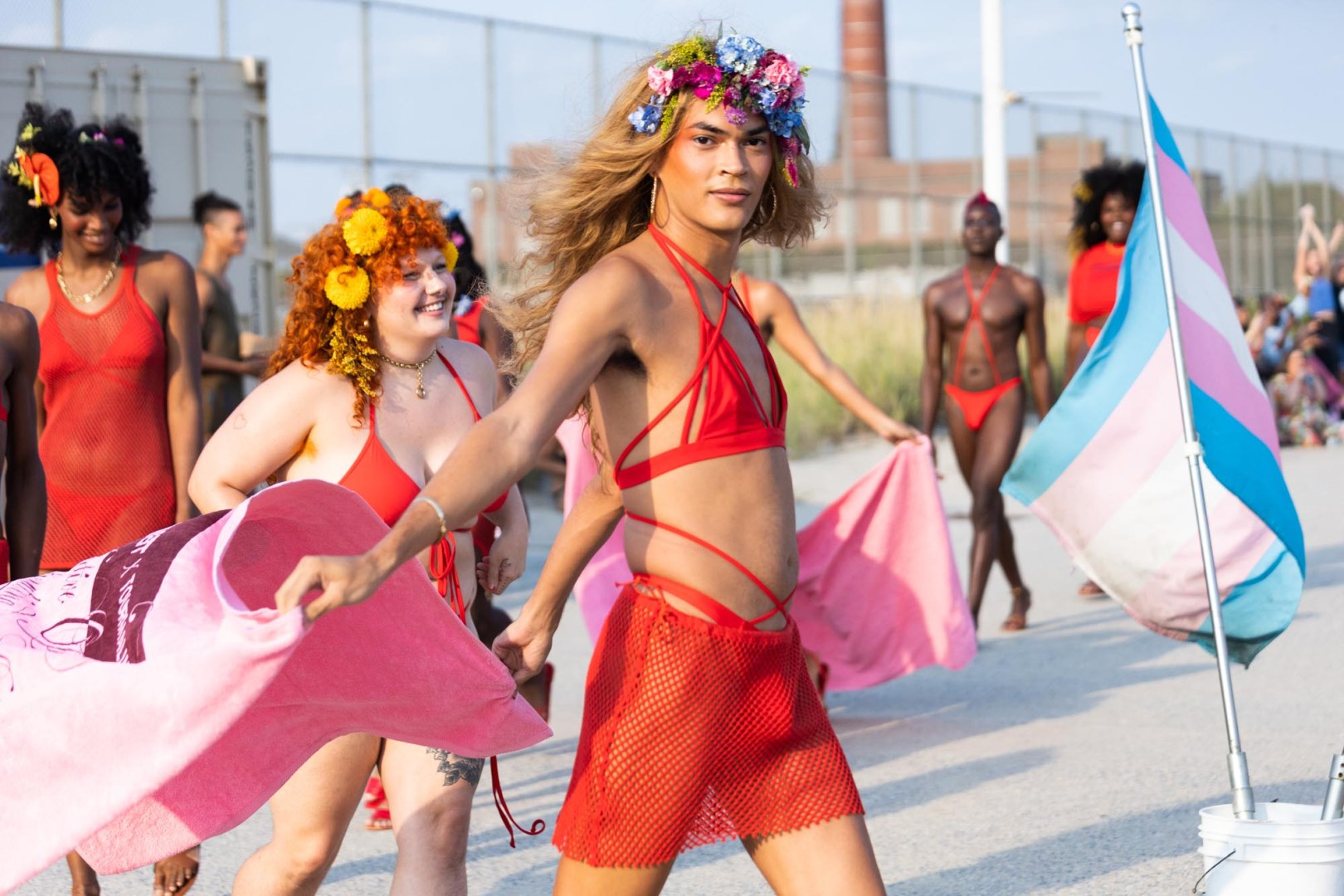 Chromat designer Becca McCharen-Tran is changin the fashion landscape