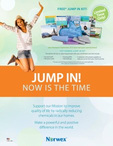 September Free Norwex Jump In Kit