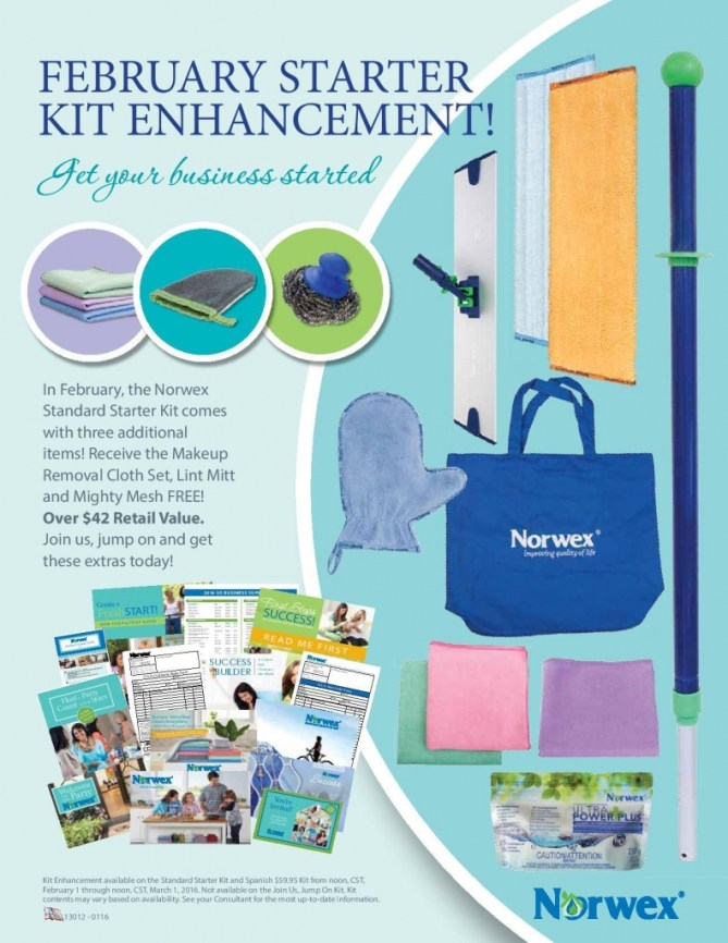 Norwex Feb Kit Enhancement