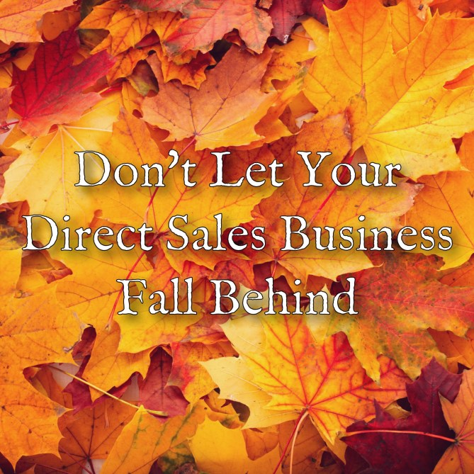 Dont let your direct sales business fall behind