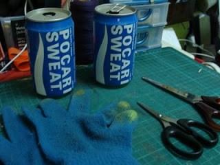 Cara membuat asbak dari bahan bekas