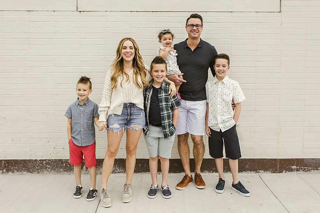 Rachel Hollis family