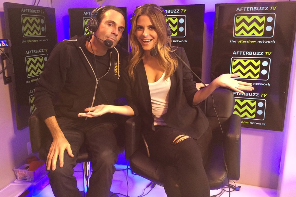 Maria Menounos and Kevin Undergaro