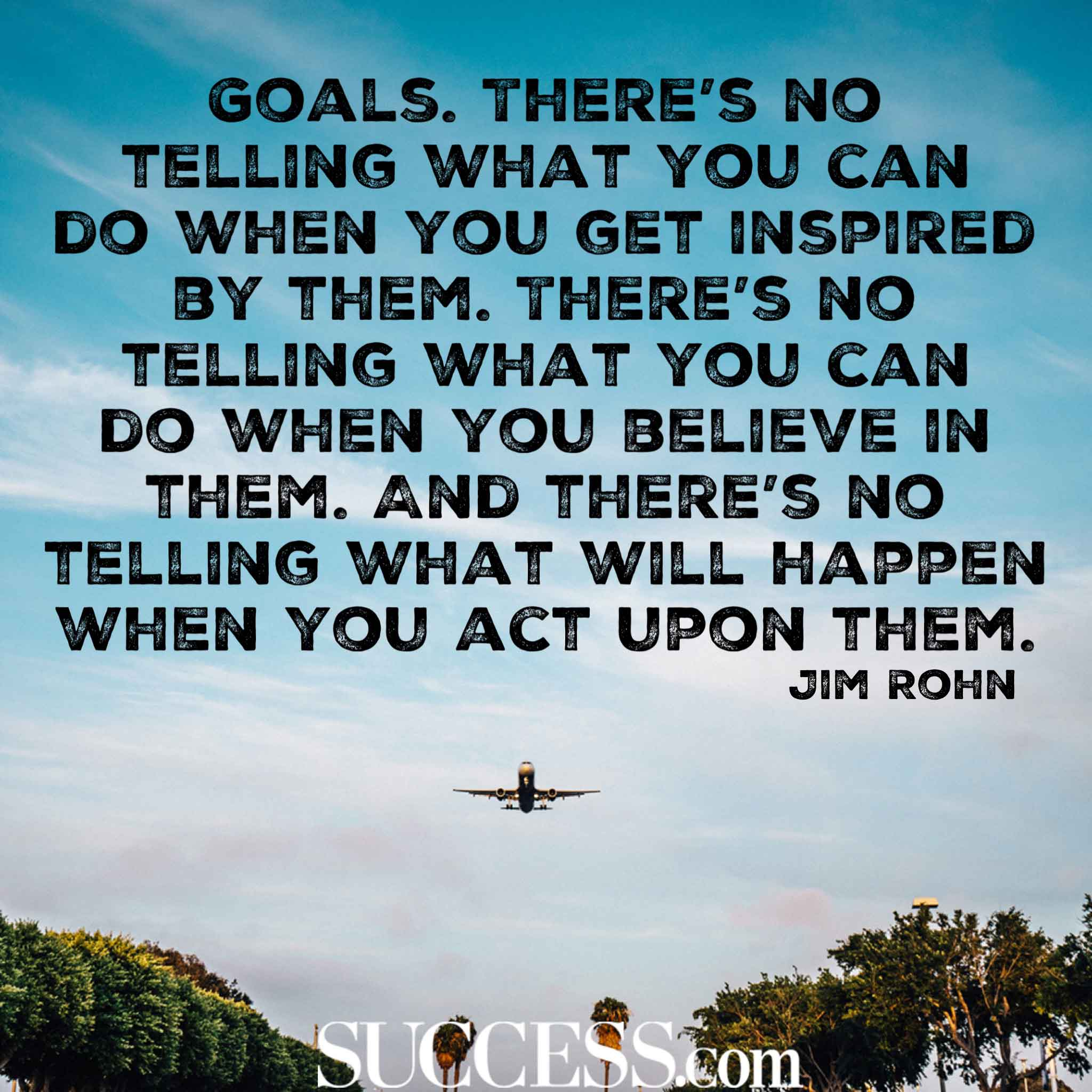 18 Quotes About Successful Goal Setting
