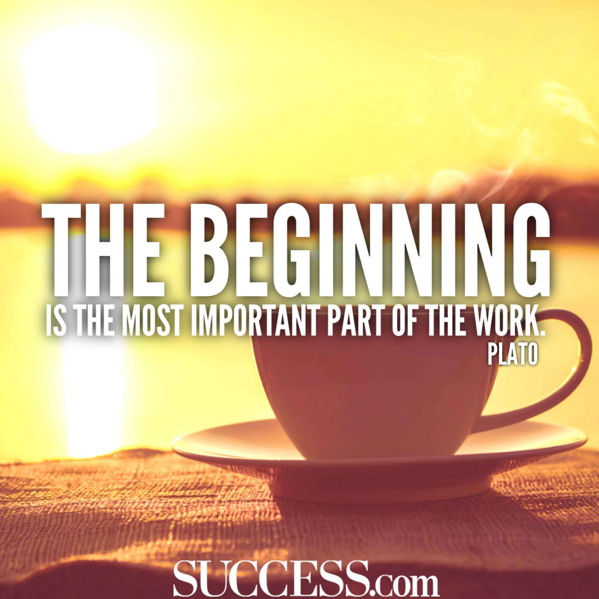 13 uplifting quotes about new beginnings