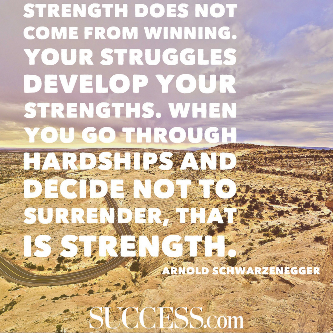 Inspirational Quotes About Life Struggles: 21 Motivational Quotes About Strength
