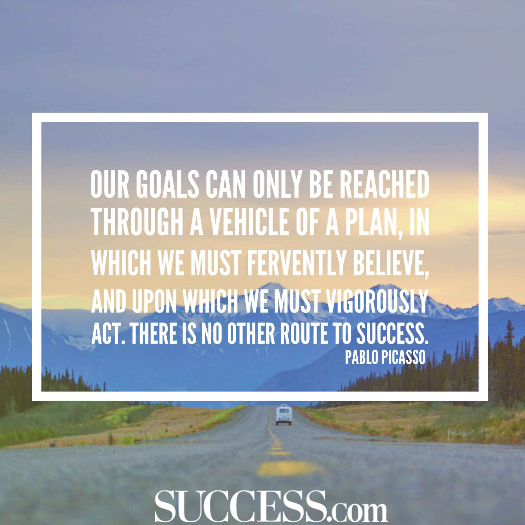18 Motivational Quotes About Successful Goal Setting