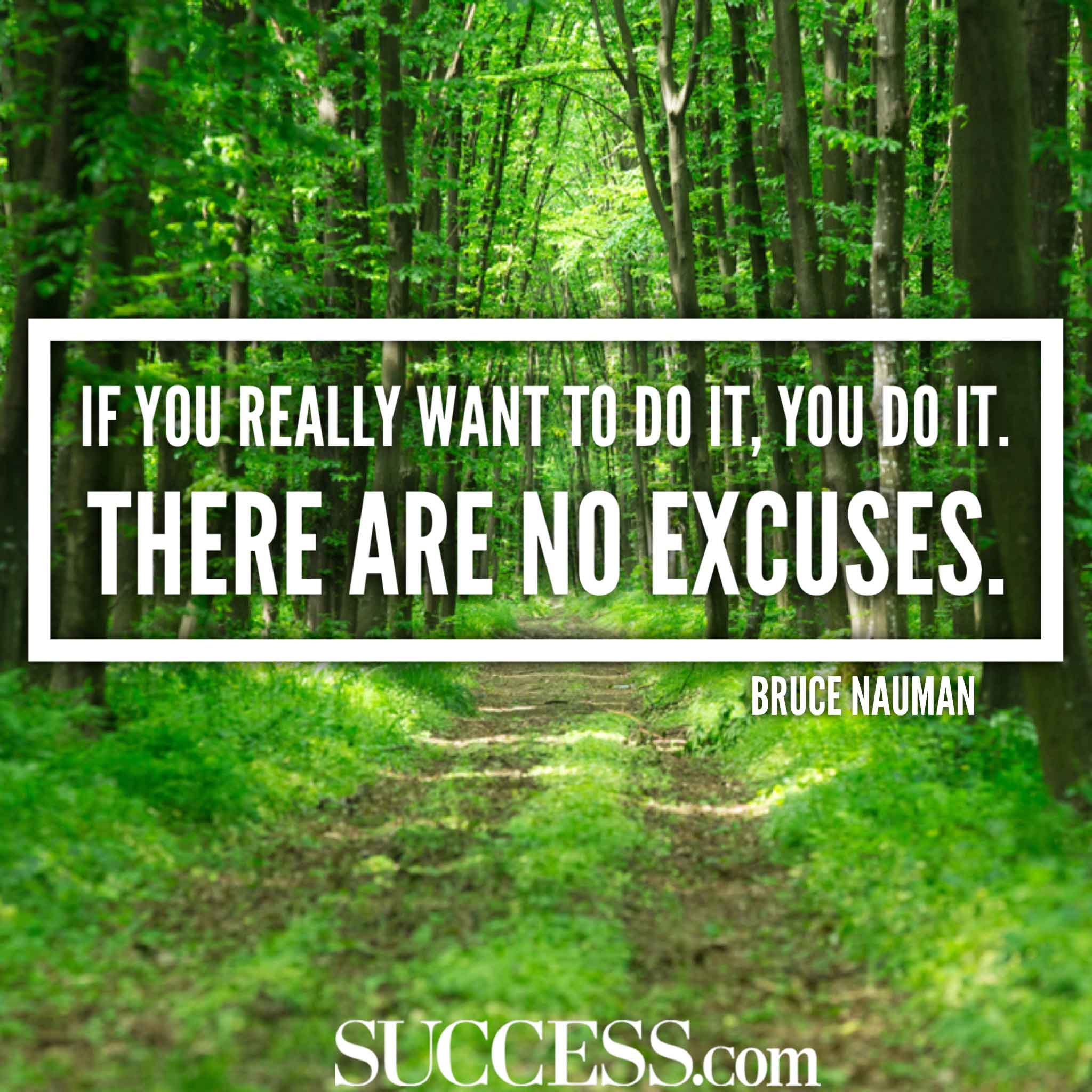 15 Motivational Quotes To Stop Making Excuses