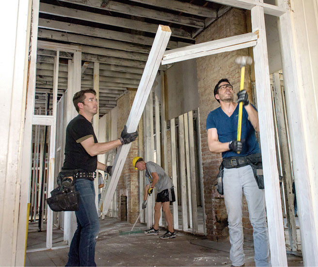 HGTV's Property Brothers Model the Ways to Successfully Mix Family and Business