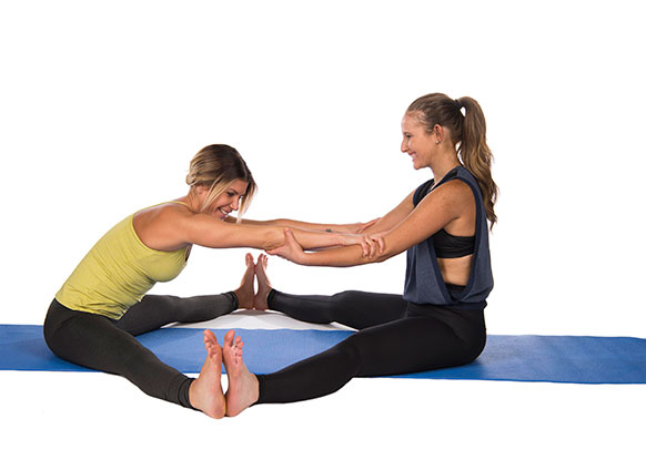 Buddy Up And Try These 2 Person Yoga Poses Success