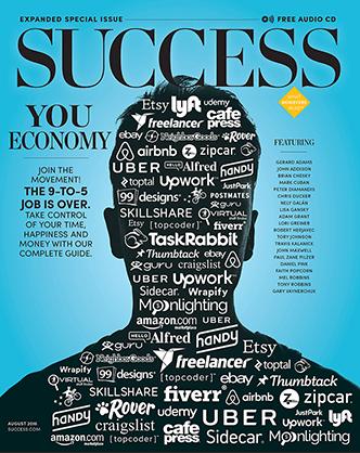 YouEconomy SUCCESS Magazine Cover Image