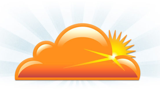 Picture of the CloudFlare logo