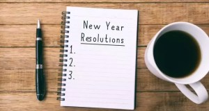 How to write your new year resolutions