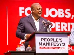 "Former President John Mahama says Ghana's economy is shrinking under the Akufo-Addo administration. According to him, the government has very little to show for the amount of money it has borrowed so far. ""In 2012, the size of Ghana's economy was 41.6 billion dollars. In 2016, on my watch as president it was 54.5 billion dollars – a nominal change of 13 billion dollars in 4 years. This year, 2020, on the watch of Akufo-Addo as president, Ghana's economy is projected to be somewhere 66 billion dollars, which means the NPP government in four years changed the size of the economy by 11 billion dollars – note in 4 years; 13 billion dollars under my watch and 11 billion dollars under NPP. This is what the data says, and it is verifiable. You can examine the data for yourselves. ""This government has meanwhile borrowed GH¢140 billion as against GH¢54 billion during my presidency"". On Sunday, Mr. Mahama challenged President Akufo-Addo to point to a secondary school you has constructed since he won power in 2016. According to him, President Akufo-Addo is ""heavy"" on giving promises but ""low"" on delivery. ""Ghanaians know what my track record is; my opponent comes nowhere near me. When we talk about credibility; who is more credible when it comes to delivery on social infrastructure, everyone knows who is credible. ""He (President Akufo-Addo) should show me one secondary school he has built or one hospital he has built in four years. It is easy to say that we have better credibility when it comes to infrastructure with our opponent,"" the NDC presidential candidate told TV XYZ in an interview Sunday."