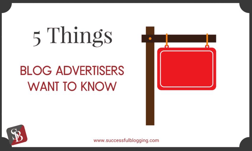 ads on your blog