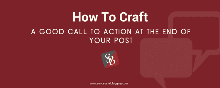 blog post call to action