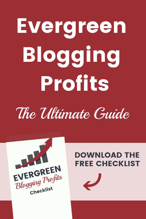 Evergreen Blogging Profits: Introduction