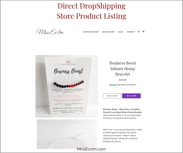 Direct DropShipping