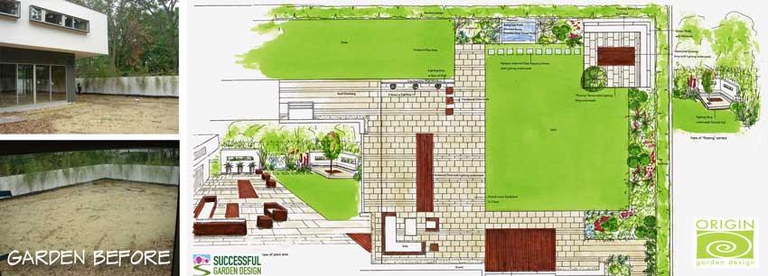 Contemporary-garden