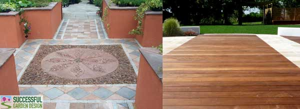 Garden Ideas Decking And Paving patio or deck - which is best?